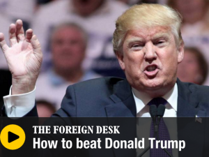 """How to beat Trump"" – Per i internationell radio om fenomenet Donald Trump"