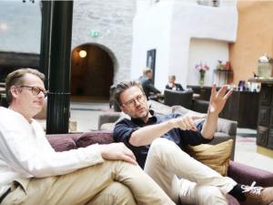"helagotland.se: ""Schlingmann om pressen i Almedalen"""