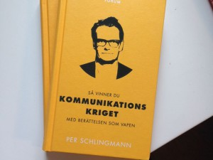 Kommunikationskriget – snart i en bokhandel nära dig!