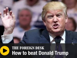 """How to beat Trump"" – Per i internationell radio om fenomenet Donald Trump"